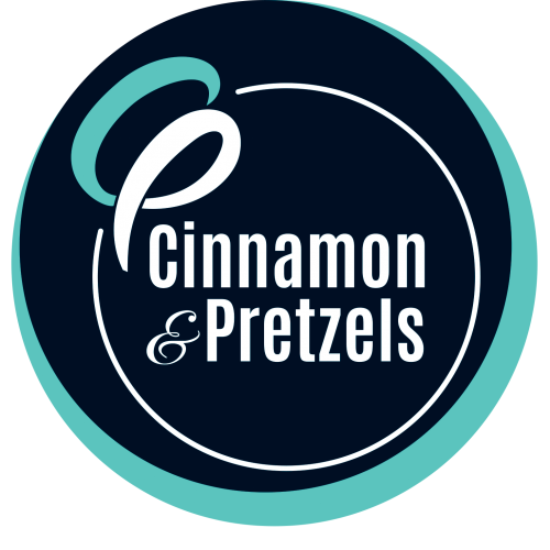 Cinnamon and Pretzels logo