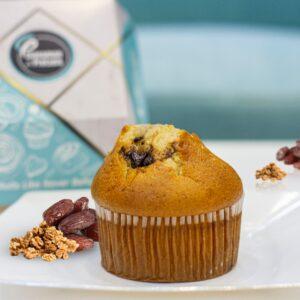 Dates and Walnut Muffin