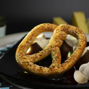 Garlic Pretzles