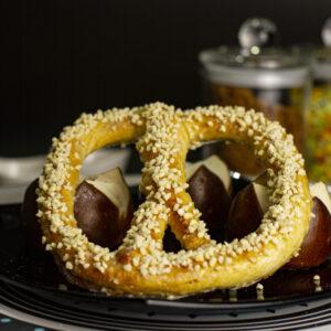 Sweet Almond Pretzels
